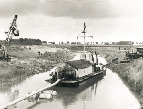 Gewässerausbau in den 1960er Jahren