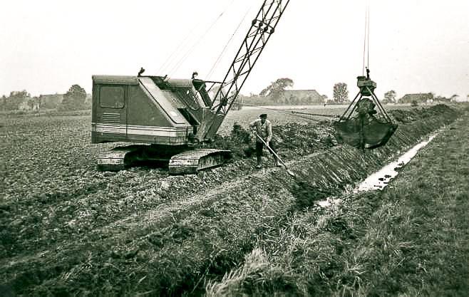 Gewässerausbau 1960er Jahre